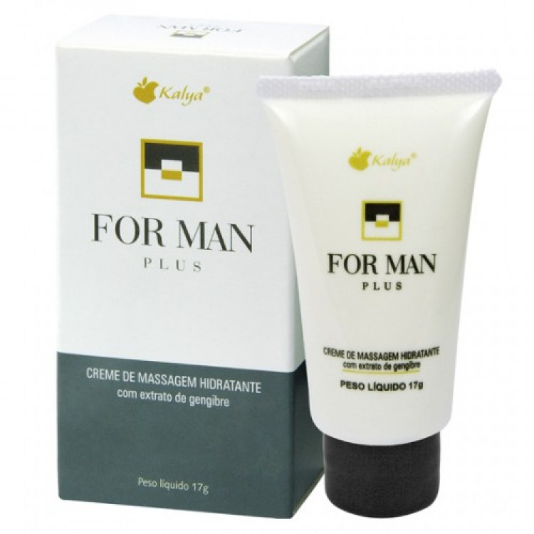 FOR MAN PLUS massagem masculina hot 17gm