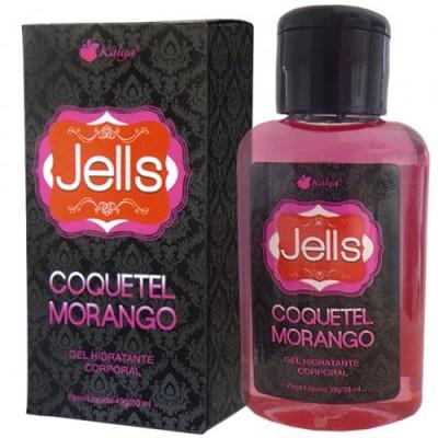 JELLS COQUETEL MORANGO explosão de sensações e aromas na pele