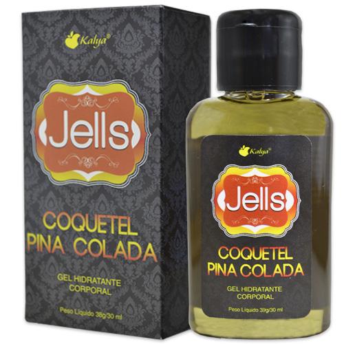JELLS COQUETEL PINACOLADA explosão de sensações e aromas na pele