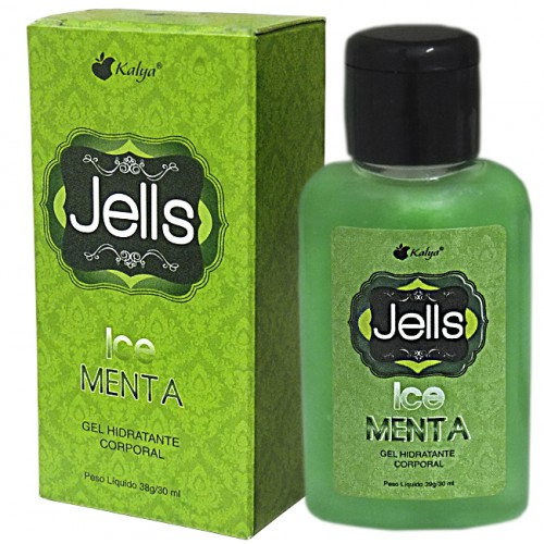JELLS ICE MENTA  explosão de sensações e aromas na pele