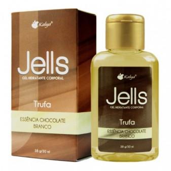 JELLS TRUFA CHOCOLATE BRANCO explosão de sensações e aromas na pelel