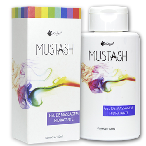 MUSTASH Gel de Massagem Sensorial  deslizante especial
